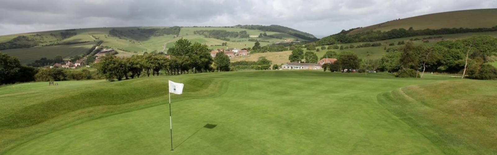 Pyecombe Golf Club - 1st Green